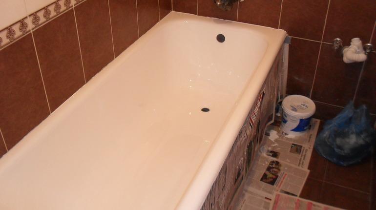Відновлення ванни акрилом в Долині 4