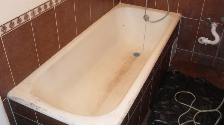 Відновлення ванни акрилом в Долині